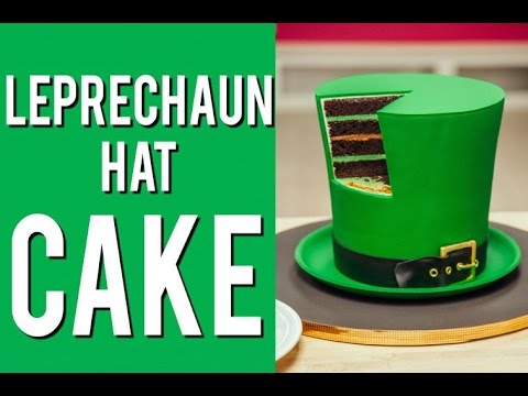 How To Make A Leprechaun Hat Cake