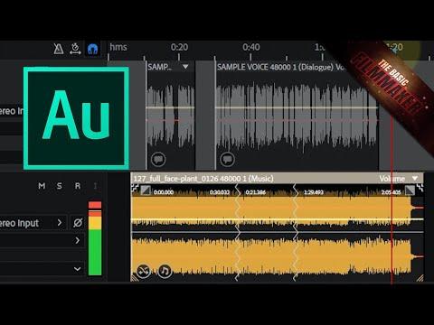 MIND BLOWN! Adobe Audition Music Remix and Auto Ducking Tutorial
