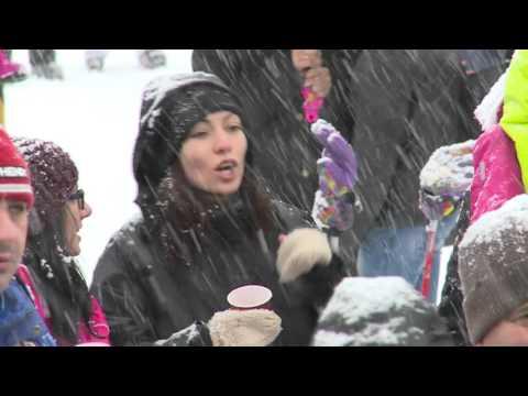 World Snow Day Bansko Winter Resort 2016.