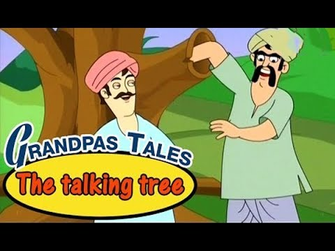 The Two Friends & A Talking Tree - दो दोस्त और बोलनेवाला ...
