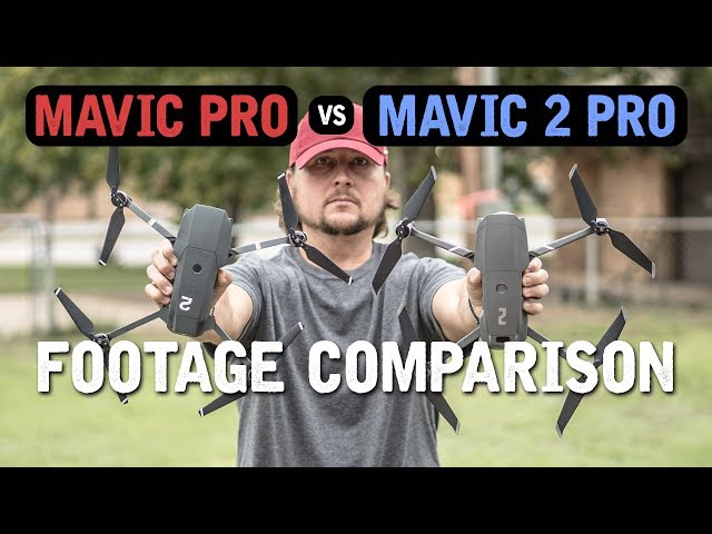 DJI MAVIC PRO vs. MAVIC 2 PRO (Footage Comparison)