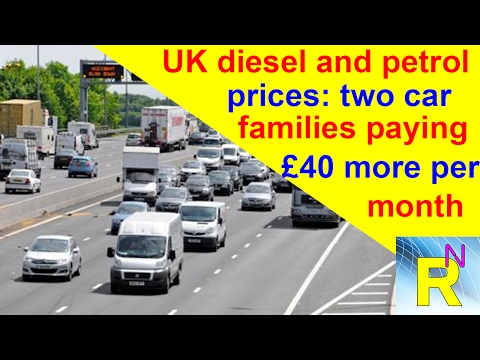 Car Review - UK Diesel And Petrol Prices: Two Car Families Paying £40 More Per Month