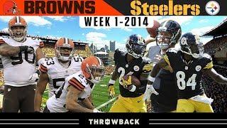 Killer B's Born Against Browns! (Browns vs. Steelers 2014, Week 1)