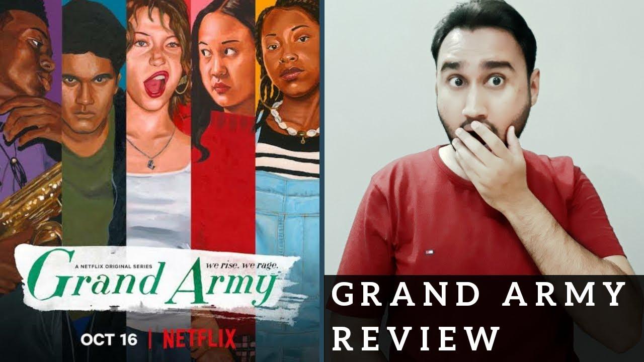 Grand Army Review | Netflix | Grand Army Netflix Review | Grand Army Season 1 Review | Faheem Taj