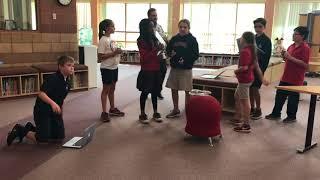 Dawson 5th Grade Parrot Drone Coding Challenge! (2017)