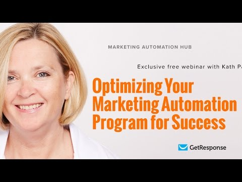 Optimizing your marketing automation program for success | Kath Pay [Webinar]