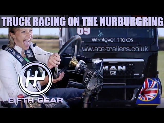 Vicki's Nurburgring Truck Race | Fifth Gear