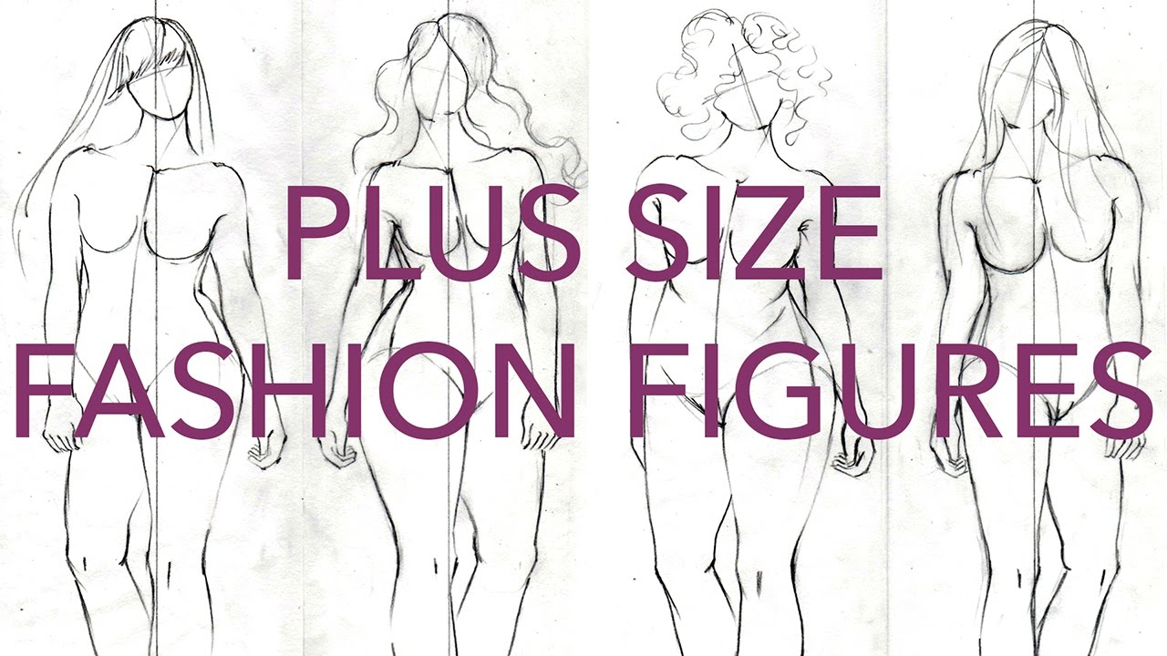 Free Body Templates For Fashion Design