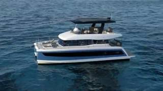 Fountaine Pajot MY 44 power catamaran