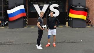 БИТВА 2ух Столиц  Уличный Футбол В Берлине