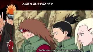 Asuma VS Ino Shikamaru and Choji | Student vs Sensei | No Flashbacks!