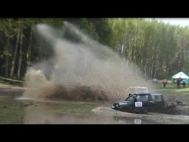 SUVs in Off-Road | Water big splash 1