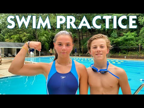 FIRST SUMMER SWIM PRACTICE | THE POOL IS OPEN!!!