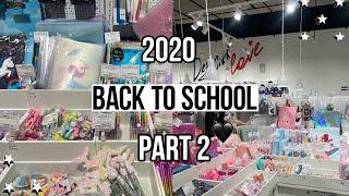 BACK TO SCHOOL 2020 шоппинг влог милая канцелярия одежда в школу бэк ту скул 2020 снова в школу