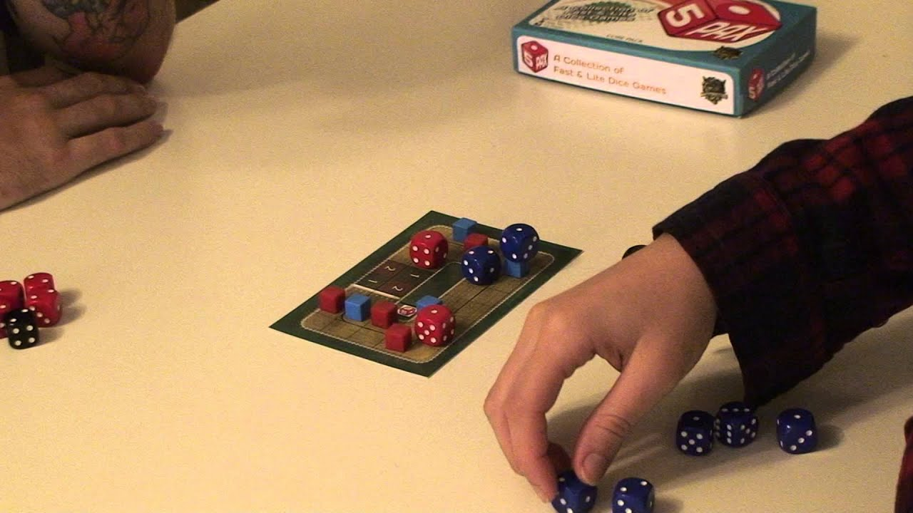 5pax Horse Racing Lite Strategy Dice Game Youtube
