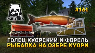 Голец Куорский и Форель Рыбалка на озере Куори Русская Рыбалка 4 161