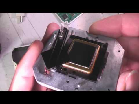 Audi night vision thermal imaging camera teardown