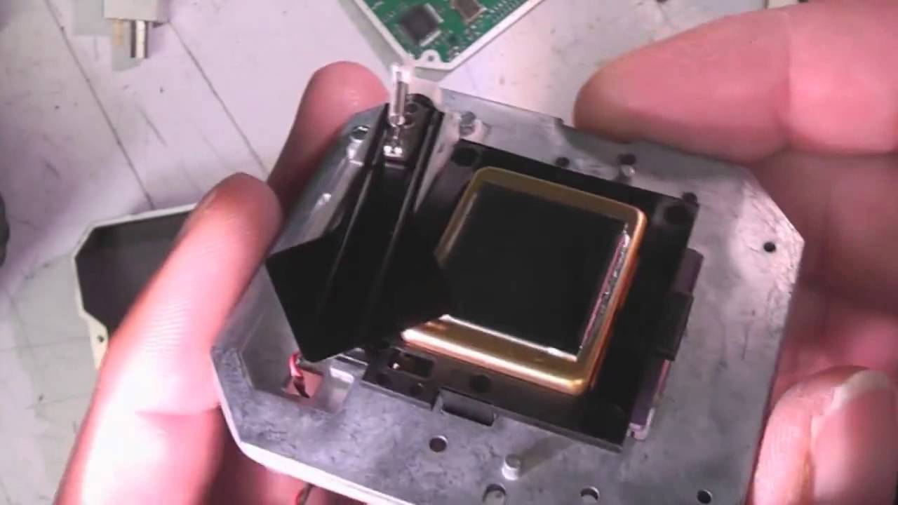 audi night vision thermal imaging camera teardown