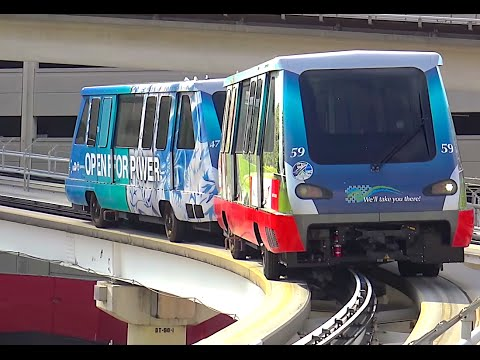 ⁴ᴷ Footage of the Miami Metromover System