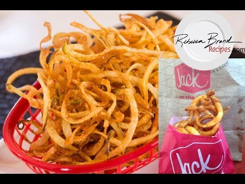 Seasoned Curly Fries: Jack in the Box Recipe copy