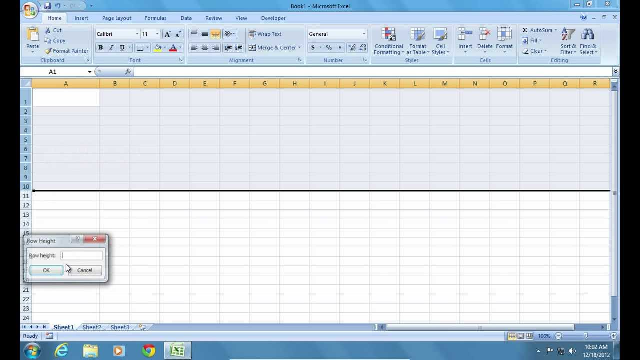 How to make an excel sheet smaller - How To Make Excel 2007 Cell Bigger