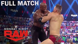 [FULL MATCH] Bobby Lashley Vs. The Miz For WWE Title | WWE Raw 3/1/21 Highlights | USA Network