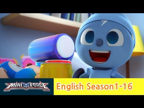 [English ver.dub ]MINIFORCE Season1 Ep 16: Battle with Vacuum Mechamon