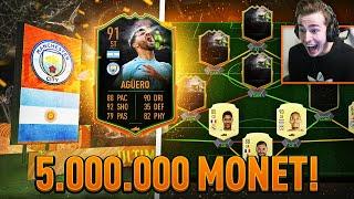 MOJA NAJDROŻSZA KARTA! NOWY SKŁAD ZA 5.000.000 MONET! | FIFA 20