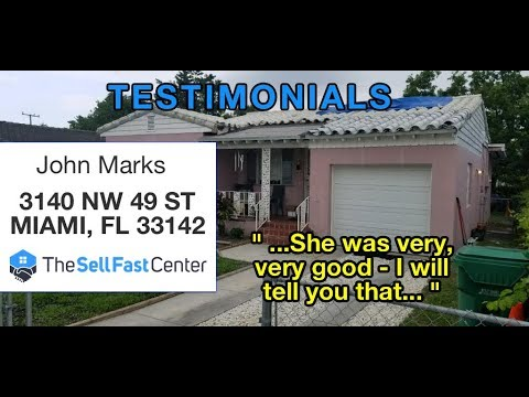Testimonial Video: John Marks, Miami FL | The Sell Fast Center