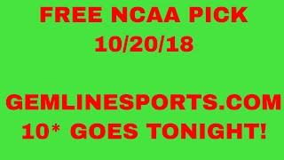 11/20/18 Free #NCAAB Picks of The Day - CBB Pick Today ATS