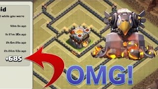 Invincible town hall 11 trophy pushing and war base | Clash of clans | base speed build