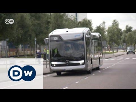 Mercedes-Benz Future Bus with CityPilot   Drive it!