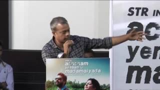 I can not cry like sivakarthikeyan, says Director Gautham Vasudev Menon