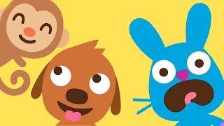 Приключение малышей Саго мини в зоопарке. Играем в детскую игру Sago Mini