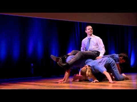 Dance your PhD: John Bohannon & Black Label Movement at TEDxBrussels