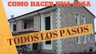 CONSTRUIR UNA CASA PASO A PASO  ✅✅ SIN HABERLO HECHO NUNCA  Capítulo 1 La excavación