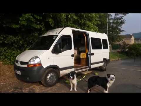 Renault Master Self Build Campervan Tour