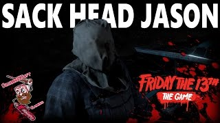 Friday the 13th: The Game 'BETA' | Sack Head Jason Full Gameplay Match