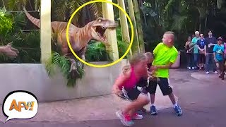 Download They didn't EXPECT THAT! Funniest Amusement Park Videos | AFV Mp3 and Videos