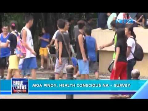 Survey says Filipinos more health conscious
