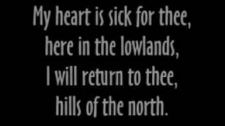 land of the silver birch lyrics