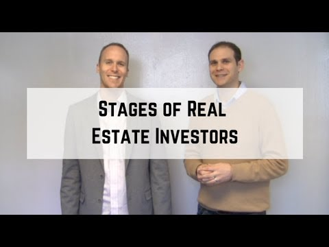Stages of Real Estate Investors