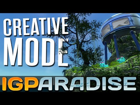 Subnautica Creative Mode - Ep. 1 - THE NEW IGPARADISE! - Let's Play Subnautica