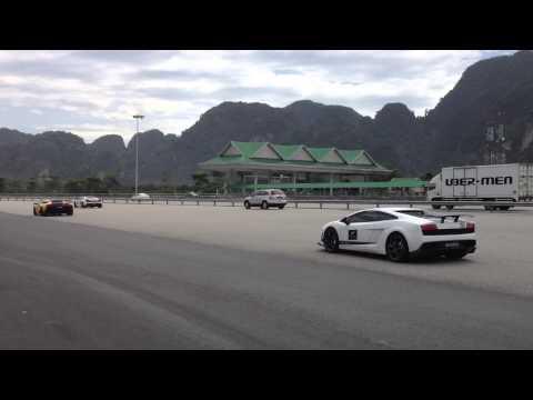Lamborghini 50th Anniversary Asia Drive In Ipoh,Malaysia