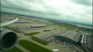 Video BA Boeing 787-9 Dreamliner takeoff from London Heathrow download MP3, 3GP, MP4, WEBM, AVI, FLV Maret 2018