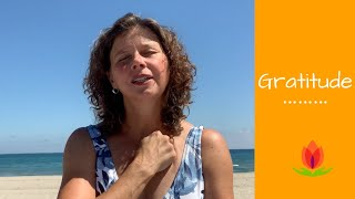 Tapping in to gratitude  - Namaste Healing