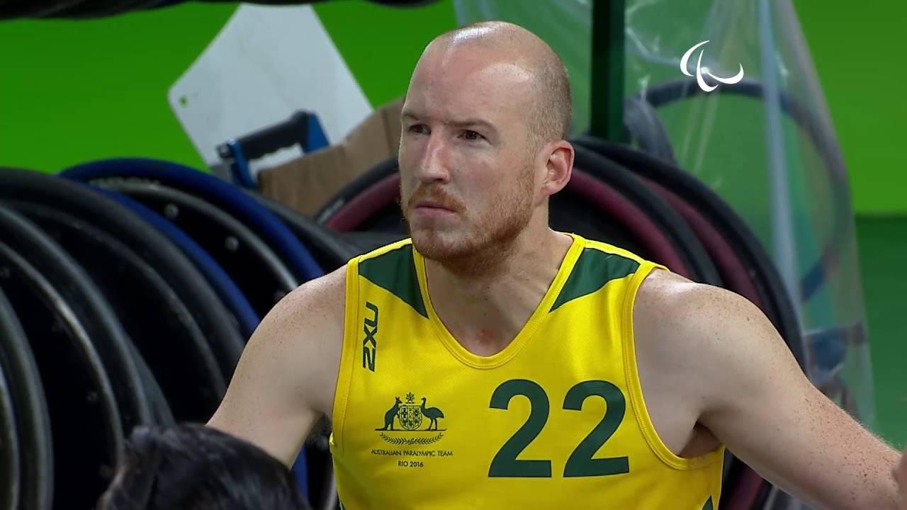 Wheelchair Rugby   Canada vs Australia   Preliminary   Rio 2016 Paralympic Games