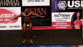 William Thomson - Competitor No 35 - Prejudging - Class 3 - NABBA World 2010