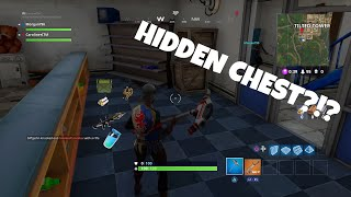 HIDDDEN CHEST IN AMMO BOX GLITCH? FORTNITE BATTLE ROYALE BEST PLAYS!
