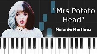 melanie martinez mrs potato head piano tutorial chords how to play cover